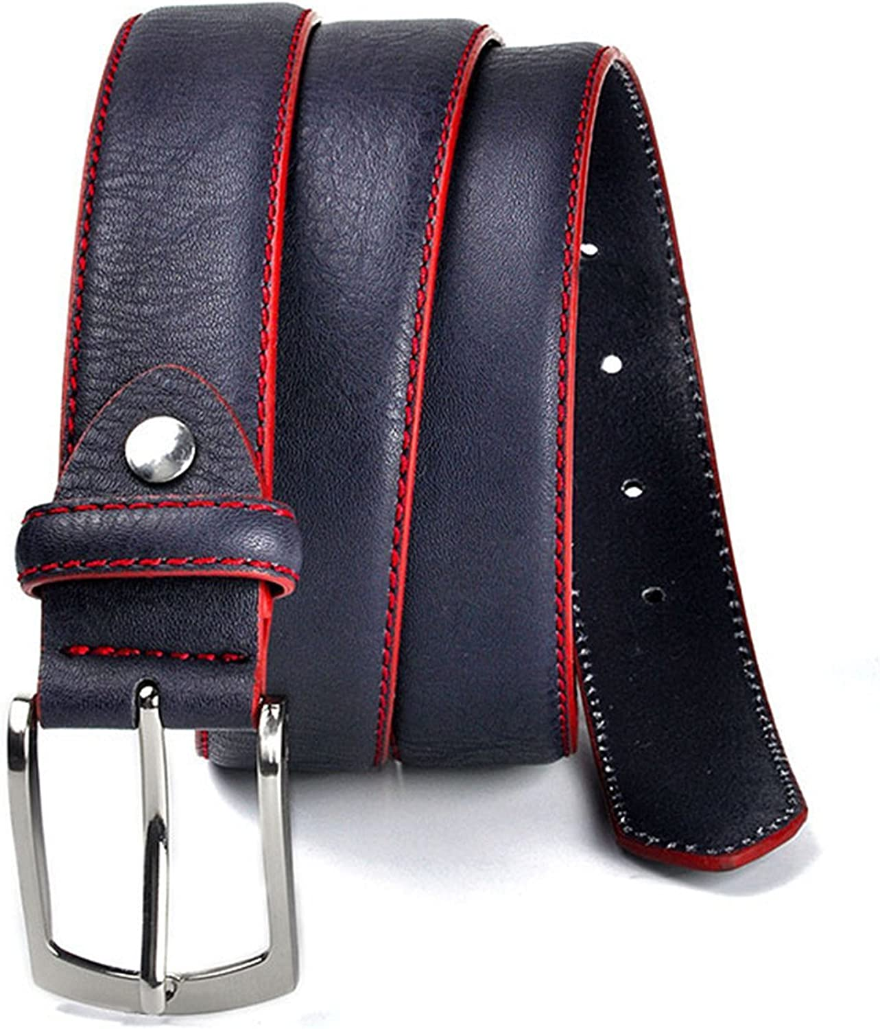Rising ON?Fashion?Fashion Brand Man Belt Split Leather Belt Casual Mens Leather Belts For Jeans For Man