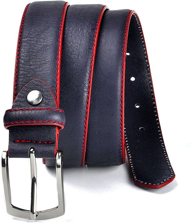 OnIn?Fashion?Fashion Brand Man Belt Split Leather Belt Casual Mens Leather Belts For Jeans For Man