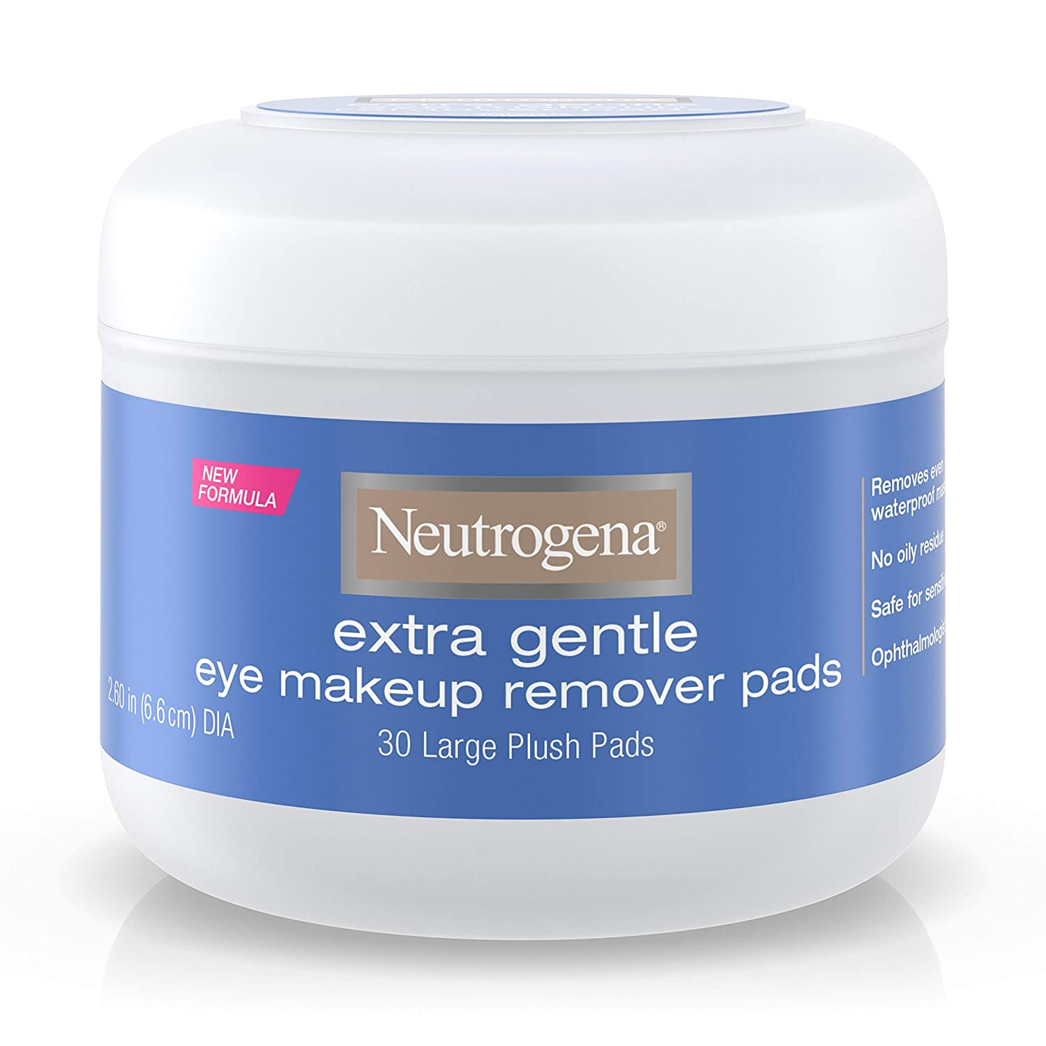 Neutrogena Extra Gentle Eye Makeup Remover Pads - 30 Pads