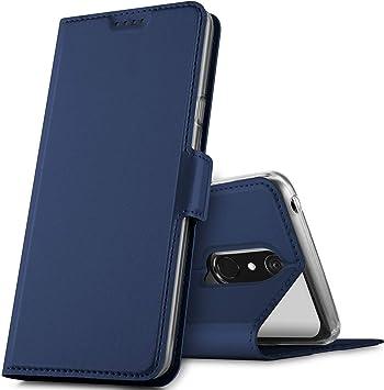 GEEMAI Diseño para LG G7 Fit Funda, Protectora PU Funda Multi ...
