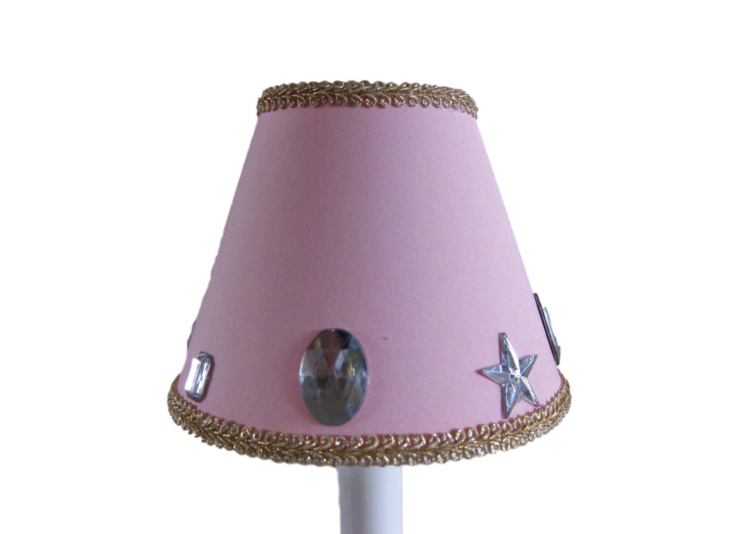 Silly Bear Lighting Glam Girl Chandelier Shade, Pink