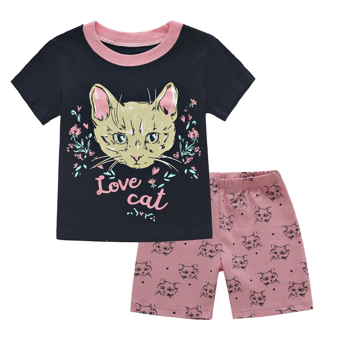 Mri-le1 Newborn Kids Short Sleeved Coveralls Bulldog I Like Dogs More Baby Clothes