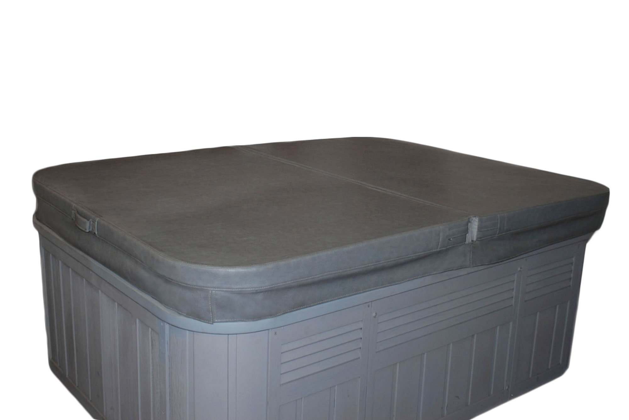 84 x 84 Inch Replacement Spa Cover and Hot Tub Cover - Charcoal