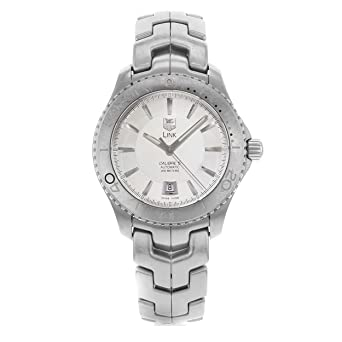 086b39536ac Image Unavailable. Image not available for. Color  TAG Heuer Men s  WJ201B.BA0591 Link Caliber 5 Automatic Watch
