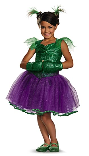 Disguise Marvels She Hulk Tutu Prestige Girls Costume 7 8 Amazon
