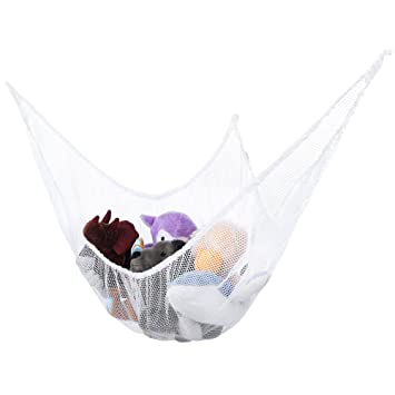Wonderful Stuffed Animal Hammock Toy Storage: Hanging Net Corner Wall Organizer For  Storing Plush Toys,