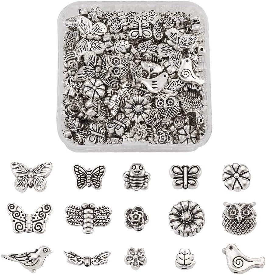 10 x Tibetan Silver Bird Connector Charms Pendants for Bracelet Necklace Making