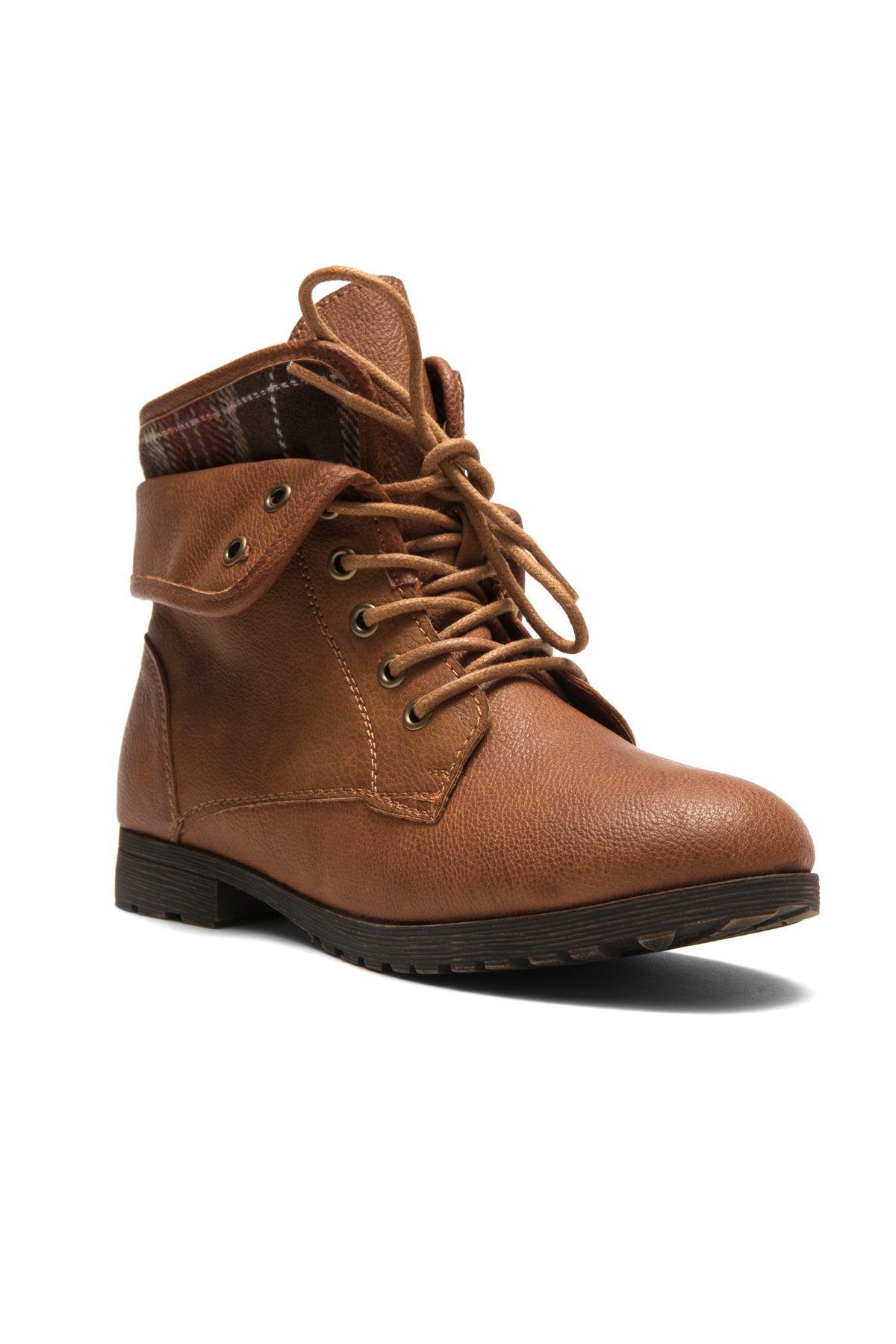 Herstyle Slgabrianna Expedition Wome's Military Combat Boots Tan 9