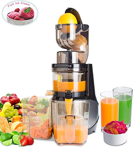 Masticating Juicer,Whole Slow Juicer Extractor by Vitalisci