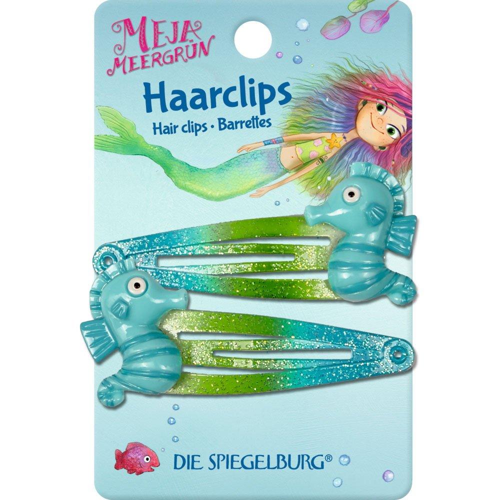 Spiegelburg 14090 Haarclips Seepferdchen Meja Meergrün Die Spiegelburg