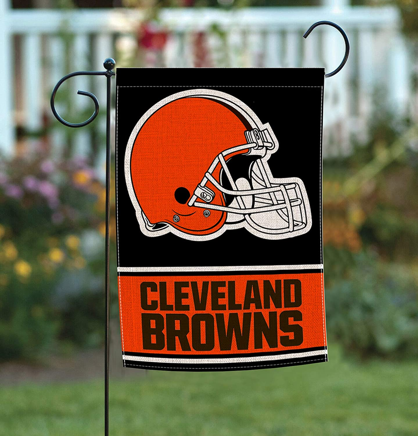 Double Sided Burlap Garden Flag, Premium Material, American Football Holiday Outdoor Decorative Small Flags for Home House Garden Yard Lawn Patio, 12.5 x 18 inch AG024