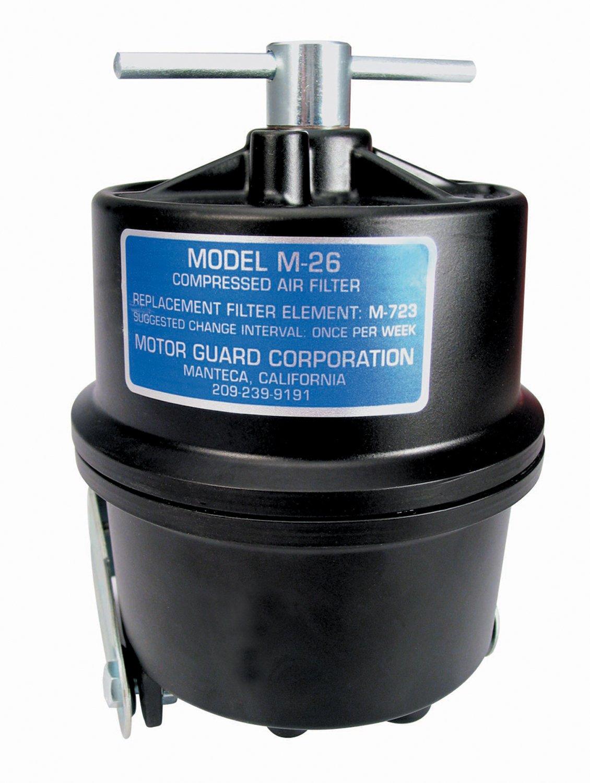Motorguard M-26 Compressed Air Filters, 1/4 (NPT), Sub-Micronic, Plasma Machines