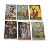 SOURBAN Paper Tarot Cards Copper-Coated Essential