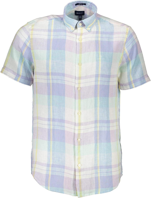 GANT 1901.3006721 - Camiseta de manga corta para hombre: Amazon.es: Ropa y accesorios