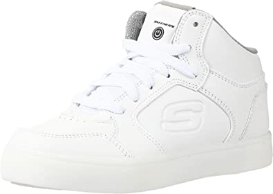 Barricada Fácil de leer salario  Amazon.com: Zapatillas con luces para niños de Skechers Kids Boys, Blanco,  12.5 M US niño: Shoes