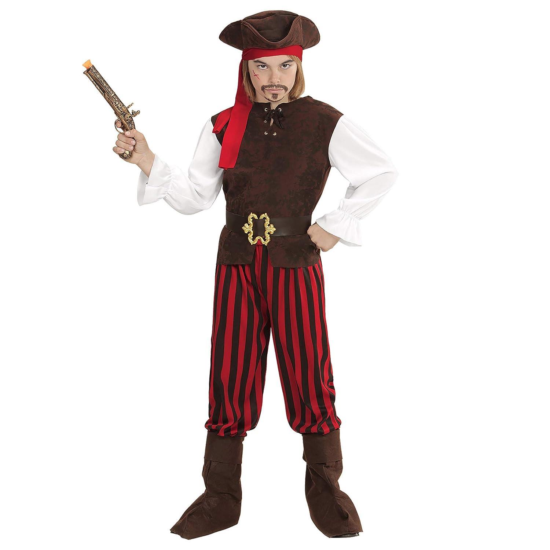 WIDMANN 65645 infantil Disfraz Pirata Niño, 116 cm: Amazon.es ...