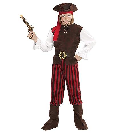 WIDMANN 65645 infantil Disfraz Pirata Niño, 116 cm: Amazon ...