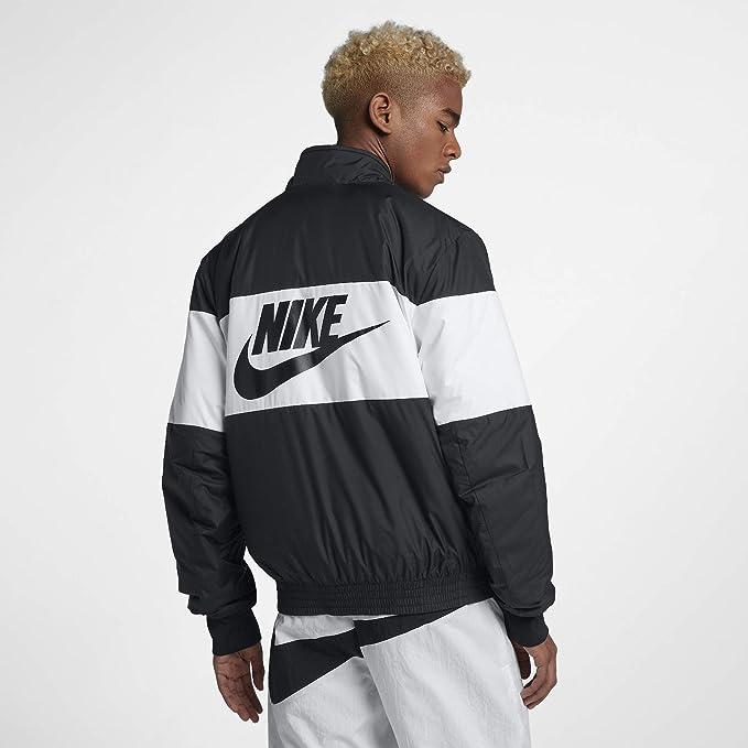 Nike M NSW Syn Fill bombr GX – Giacca, Uomo, Nero (Black