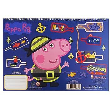 Guizmax Cahier De Dessin Peppa Pig Livre De Coloriage