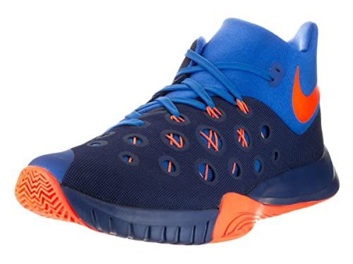 ef23c53d7725 Nike Men s Zoom Hyperquickness 2015 Insignia Blue Bright Citrus Sr  Basketball Shoe 14 Men US  Amazon.ca  Shoes   Handbags