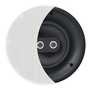 "OSD 8"" Trimless In-Ceiling Speaker - DVC Dual Dome Tweeters Stereo – ACE840TT"