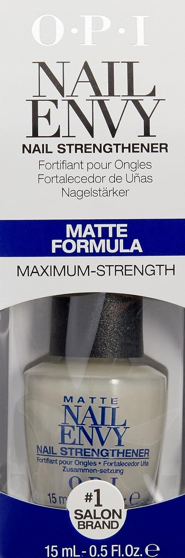 Amazon.com: OPI Nail Envy Nail Strengthener, Matte, 0.5 fl. oz ...