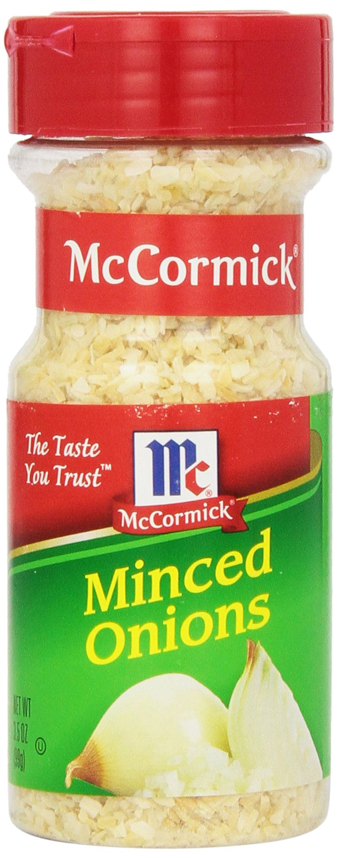 McCormick Minced Onions, 3.5-Ounce Jars (Pack of 6)