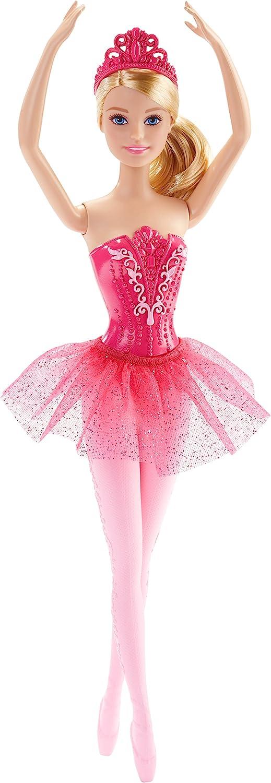 Barbie ballerine poup/ée danseuse avec tutu et pointes jouet pour enfant rose DHM42