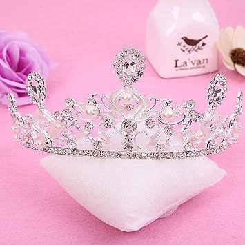 Amazon.com: GUSTAVE - Diadema de diamante de imitación de ...