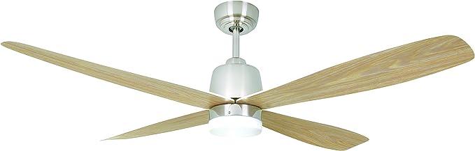 AireRyder Stratus ventilador de techo con iluminación de bajo consumo, con mando a distancia, 132 cm, aspas ...