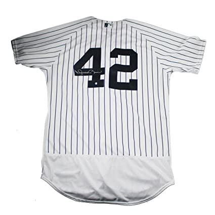 9624acbda ... discount mariano rivera signed new york yankees authentic flex base  pinstripe jersey signed on back faf63