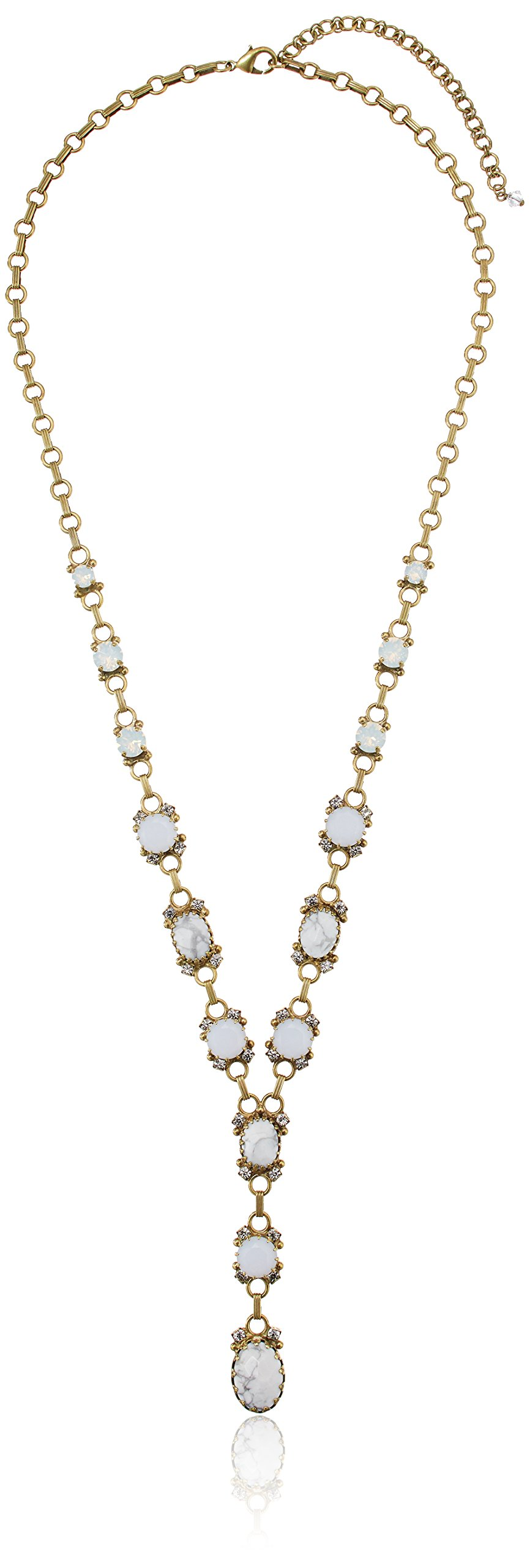 Sorrelli ''Pearl Luster'' Statement Y-Shaped Necklace, 27'' + 4'' Extender