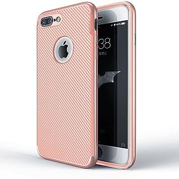 Funluna iPhone 7 Plus Funda - Amortiguador de Parachoques con ...