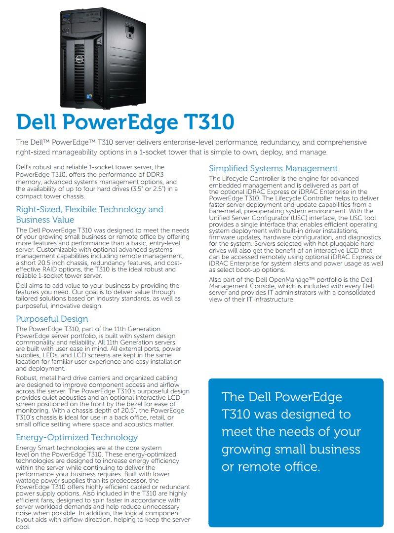 Amazon.com: Dell PowerEdge T310 Tower Server Intel Xeon Quad Core ...