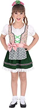 WIDMANN Disfraz de Tirolesa Karen para niña T-2/3 años: Amazon ...