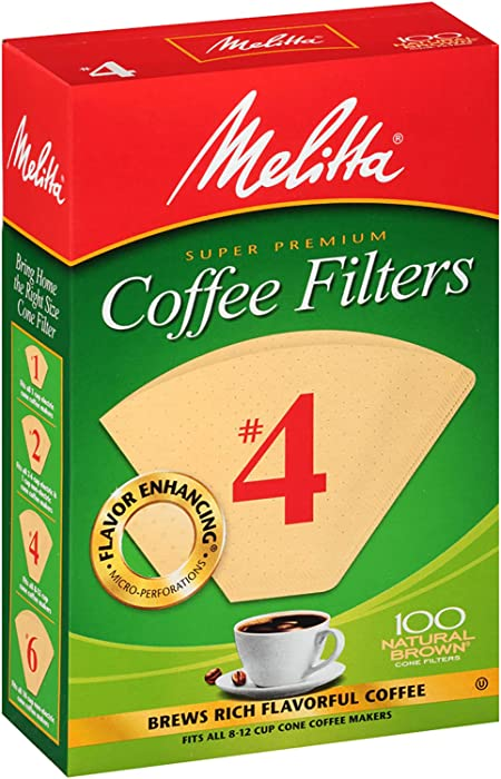 Top 9 Melitta No 4 Cone Coffee Filters White