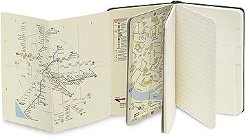 Moleskine - Cuaderno de Rome con Hojas Lisas y Rayadas, Libreta ...