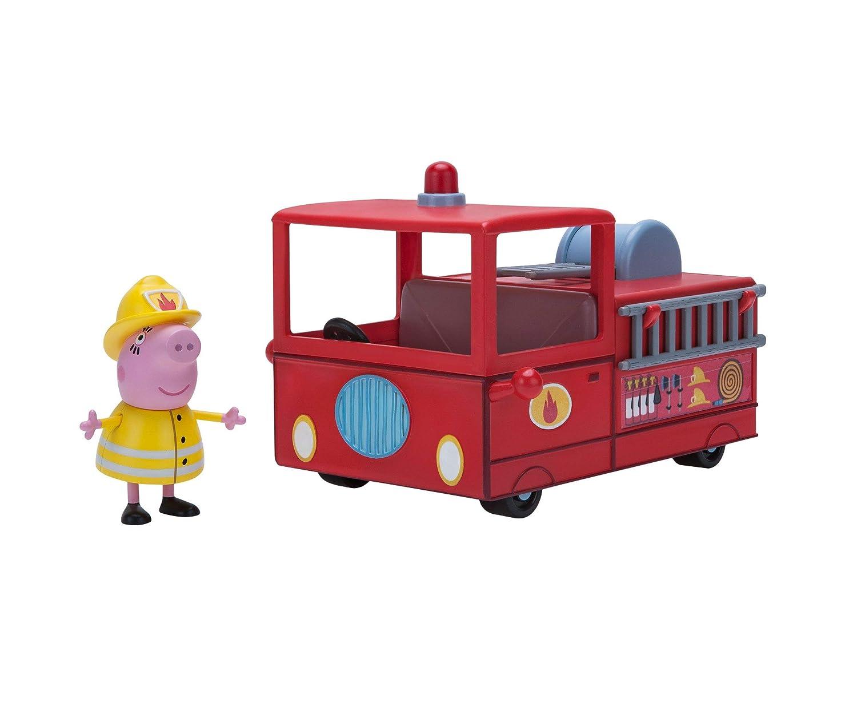 Peppa Pig Wutz Mama Wutz´s kleines Feuerwehrauto Jazwares 95674