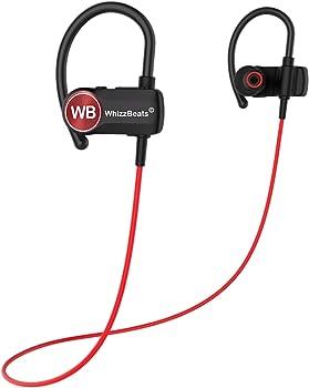 WhizzBeats IPX7 Waterproof Bluetooth Headphones with Mic