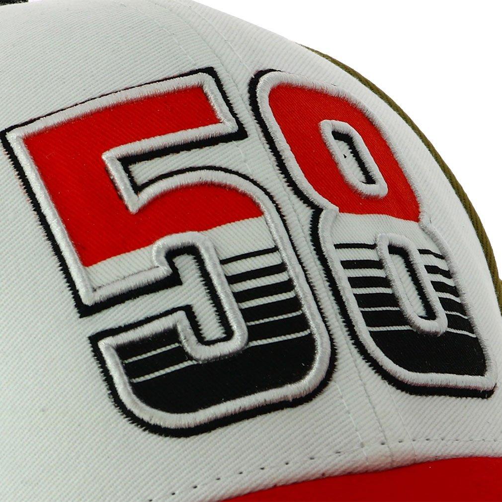 Marco Simoncelli 58 Moto GP Baseball Gorra Logo Oficial 2018