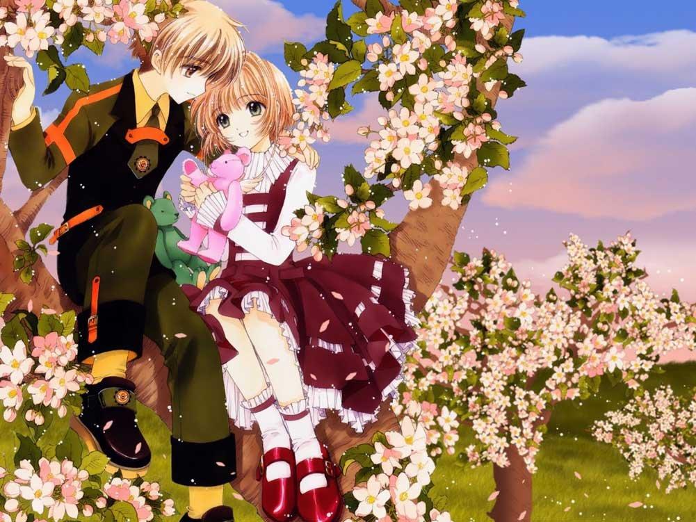 sakura kinomoto, syaoran li, shaoran li, clamp, anime, manga, cardcaptor sakura, card captor sakura