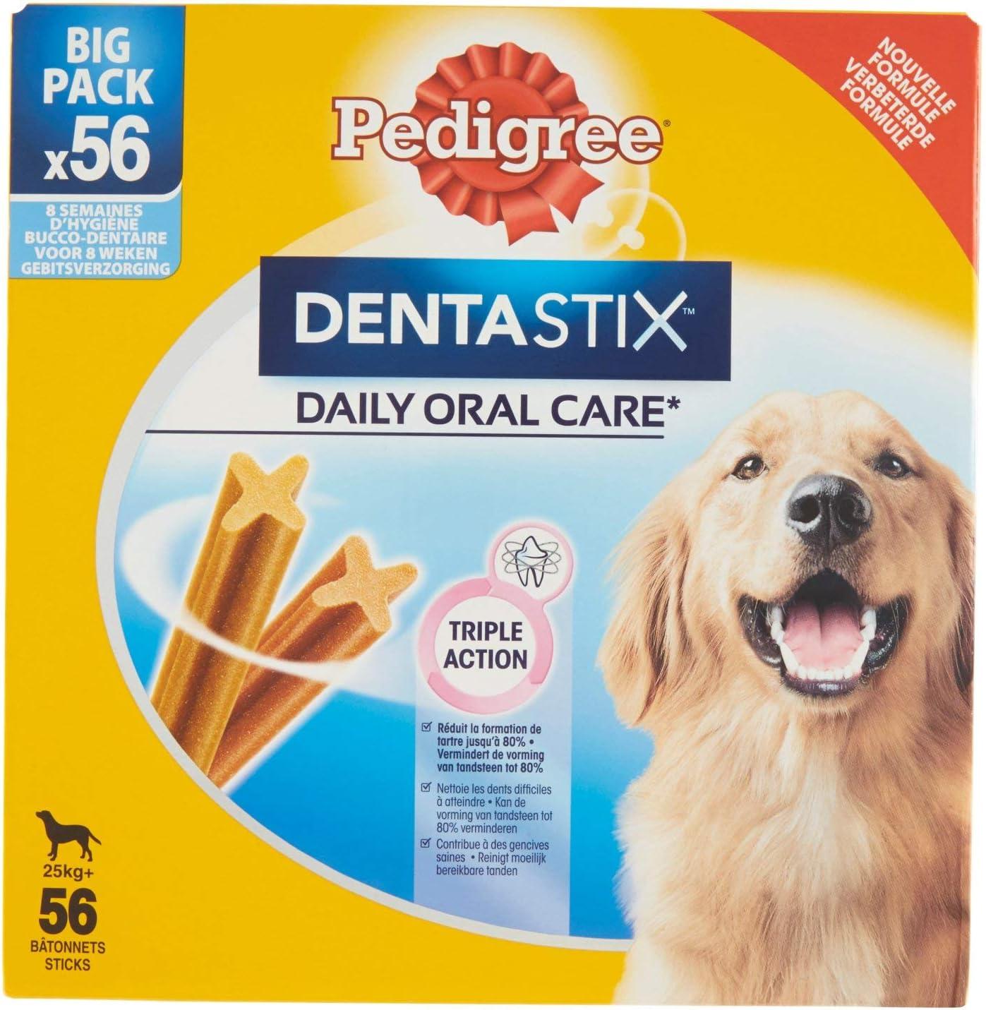 PEDIGREE Dentastix per Cani di Taglia Grande - 56 Pezzi