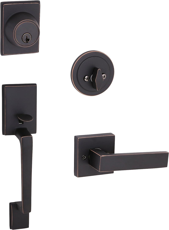 Design House 581942 Moderno 2-Way Adjustable Karsen Handlset, Oil Rubbed Bronze
