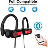Bluetooth Headphones for Women Wireless Sport Earbuds with Mic Stereo In-Ear Sweatproof Headsets Noise