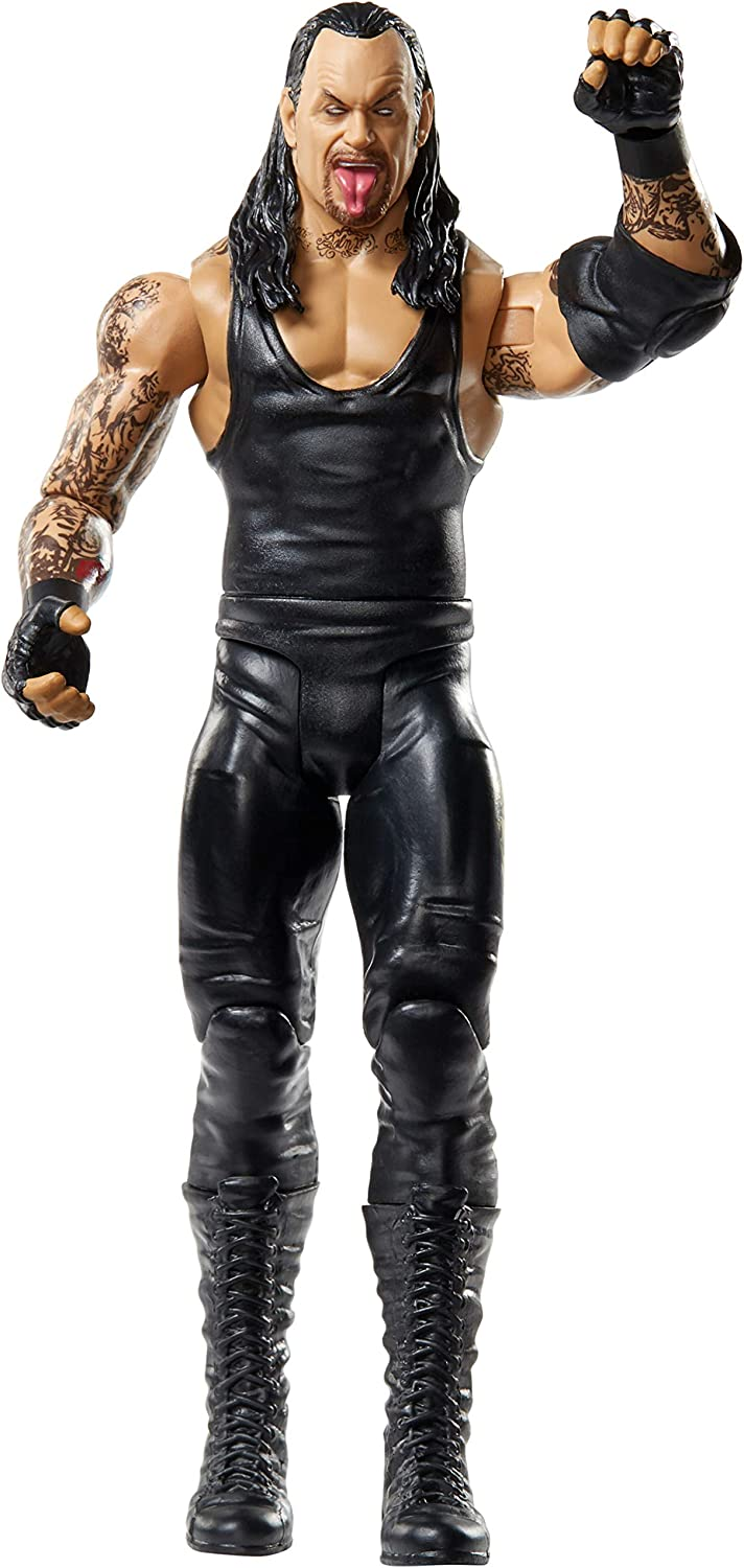 WWE Action Figure in 6-inch Scale with Articulation & Ring Gear, Undertaker