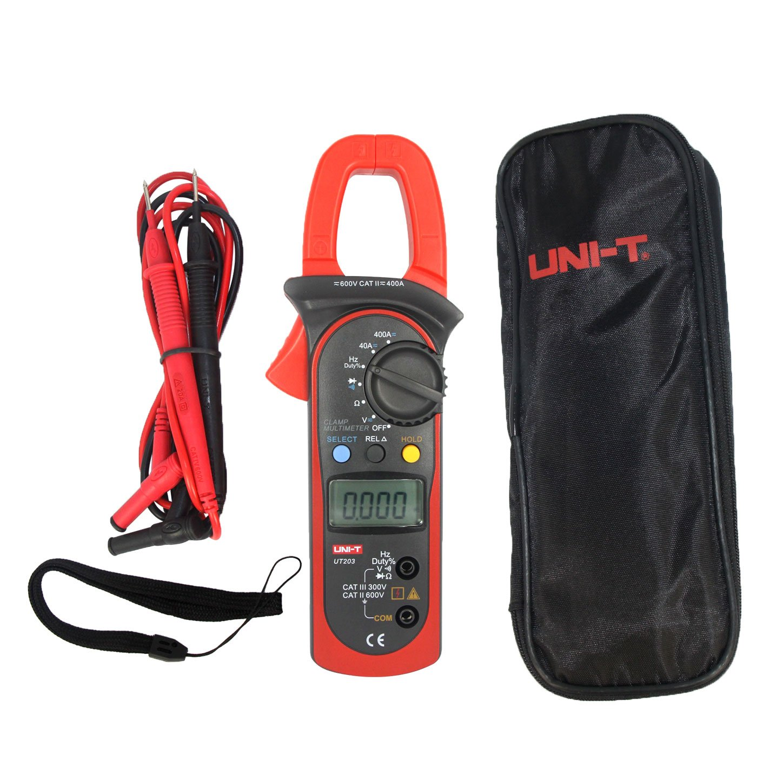 UNI-T UT203 Pinza Multímetro Amperimetrica Digital Profesional ...