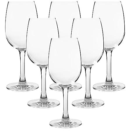 FD Markengläser - Juego de 6 Copas de Vino Tinto, Altura de 18 cm ...