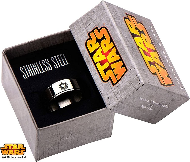 Star Wars Empire Galactique Symbole Spinner Bague en Acier Inoxydable