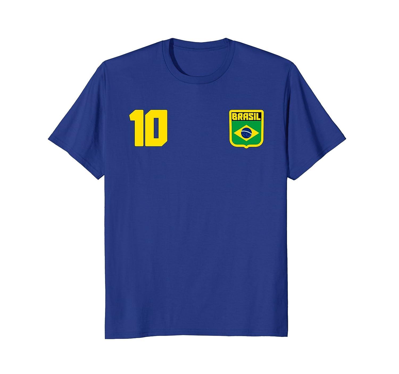 Brazil Soccer T-shirt Brasil Football Jersey Style-ln