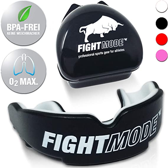weletix Profi Mundschutz   + Box + max. O? + BPA freier Zahnschutz   Sicherer Halt im Kampfsport   Boxen, MMA, Krav MAGA